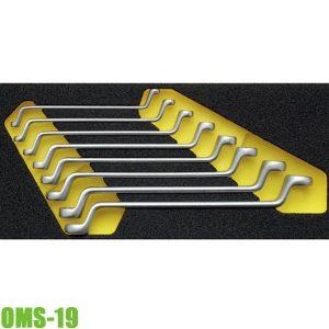 OMS-19 Bộ cờ lê hai đầu vòng 6-22mm cho tủ đồ nghề ELORA