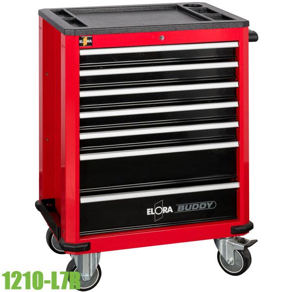 1210-L7R Tủ đựng đồ nghề 7 ngăn 1010x710x470mm, màu đỏ