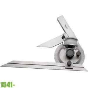 1541- Thước đo góc vạn năng 200-300, 4 x 90°. ELORA Germany