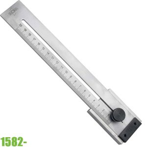 1582- Thước làm dấu 200-300mm, khóa bằng vít. ELORA Germany