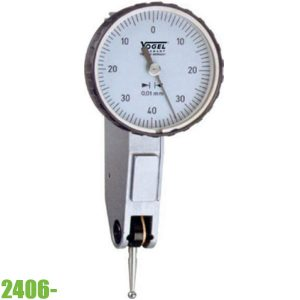 2406 Đồng hồ so cơ 0-100mm, độ chính xác 0.01mm. Form A