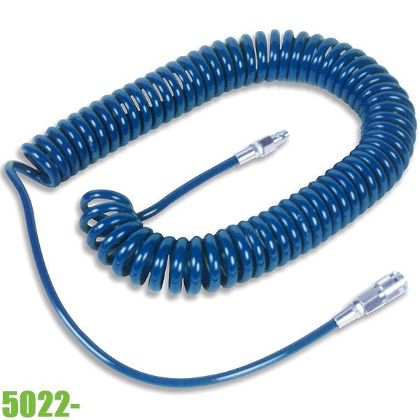 5022- Cuộn dây hơi xoắn dẫn khí nén Ø8-10 mm, 15 bar