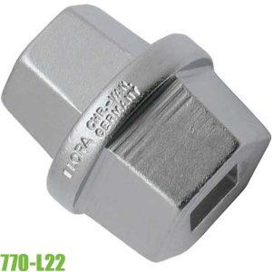 770-L22 Đầu tuýp 1/2 inch chuyên dùng sửa ô tô, chuẩn DIN 3120