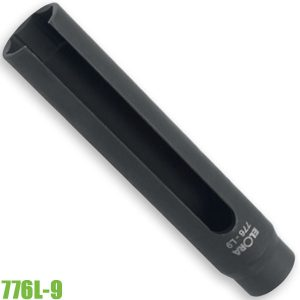 776L-9 Đầu tuýp mở cảm biến oxy 22mm, vuông 1/2 inch. ELORA Germany