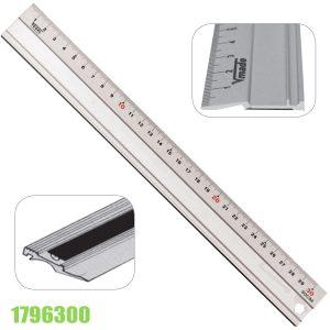 1796300 Thước nhôm kỹ thuật 300-1000mm, mặt đo xiên góc