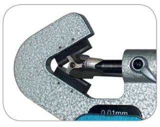 23008 Series Panme cơ đo ngoài 1-80mm, ±0.01mm, ngàm V