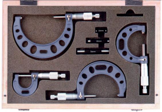 232001 Bộ panme cơ đo ngoài, độ chính xác 0.01mm