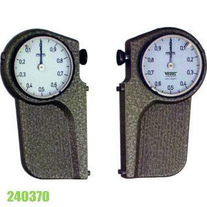 240370 Đồng hồ đo độ mở lưỡi cưa 0-2mm, ±0.1mm, Vogel Germany