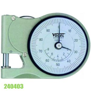 240403 Đồng hồ đo độ dày bỏ túi 0-8 mm, ±0.01mm, đo độ dày tôn, thép.