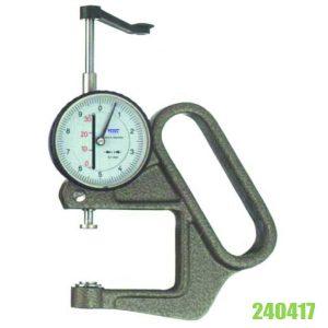 240417 Đồng hồ đo độ dày vật liệu tấm dày 0-30mm, type N, độ chính xác 0.1mm