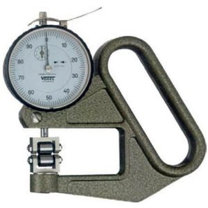 Đồng hồ đo độ dày dây thép liên tục, tiếp điểm con lăn, độ chính xác 0.01mm