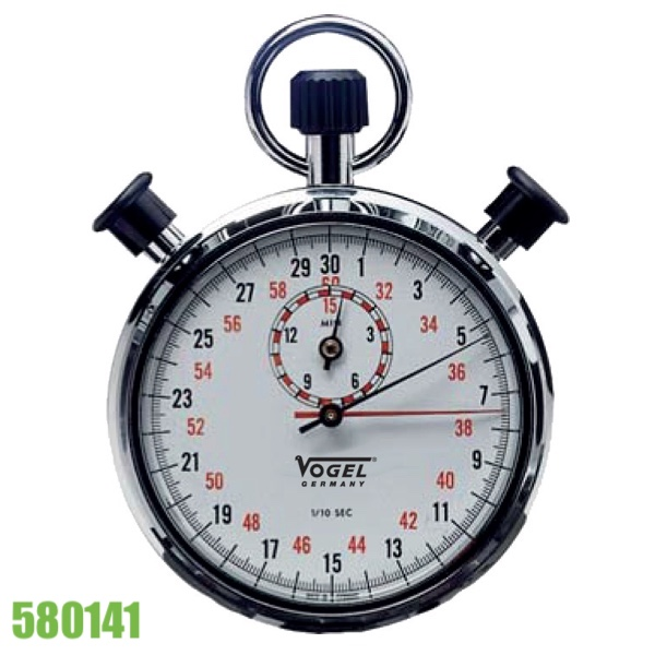đồng hồ bấm giờ cơ khí 3 nút nhấn, đường kính 55mm