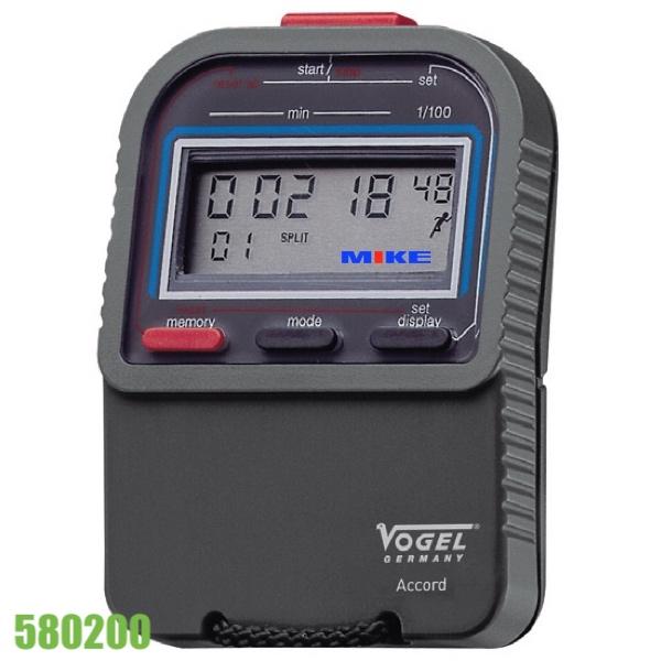 Stopwatch với 1 phím kích hoạt, 3 nút điều khiển