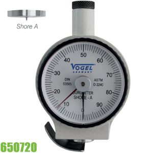 650720 Đồng hồ đo độ cứng vật liệu 100 x 64 x 35mm Vogel Germany