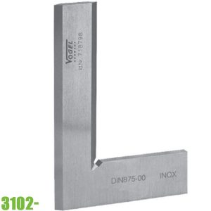 3102 Thước eke kỹ thuật 50-130mm, vật liệu inox. Vogel Germany