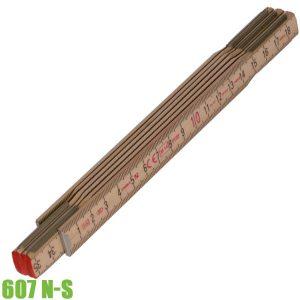 600 N-S Thước gập bằng gỗ sồi, 1-2 mét. Stabila Germany