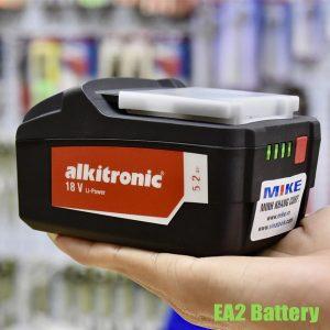 EA2 Battery – Pin sạc lithium-ion 18V, 5.2Ah dùng cho bộ nhân lực Alkitronic
