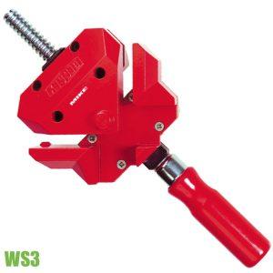 WS3 kẹp góc vuông 2x55mm độ sâu ngàm cặp 30mm. BESSEY