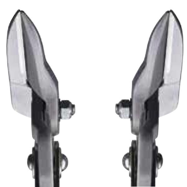 Hình dáng lưỡi cắt của kéo cắt tôn