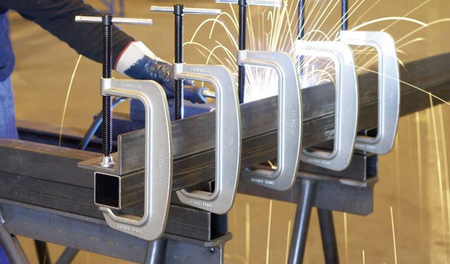Cảo chữ C 40-200mm cho ngành hàn và gỗ BESSEY Germany