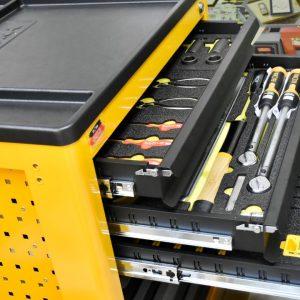 Tủ đồ nghề 7 ngăn 320 chi tiết chuyên dụng cho garage Super Caddy - ELORA Germany.