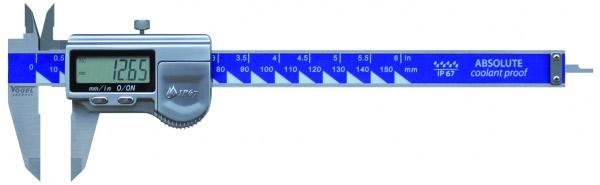 Thước cặp điện tử 150mm ±0.01mm, inox, chống nước IP 67
