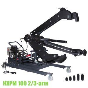 HXPM 100, Cảo thủy lực 100 tấn 2 hoặc 3 chấu, di động, độ mở 1,5m