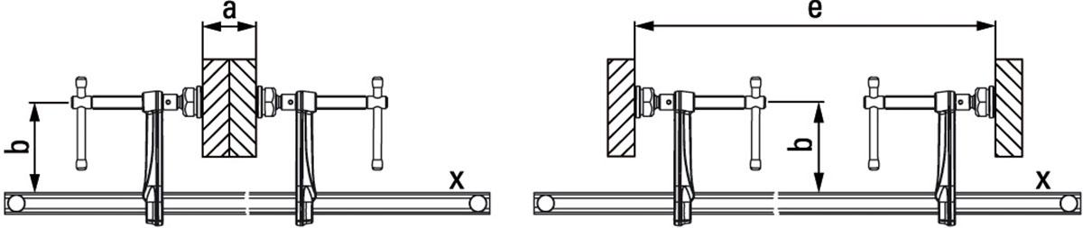 Bản vẽ kỹ thuật kẹp chữ F - SLV