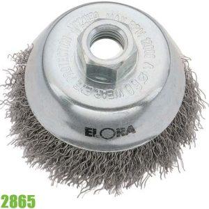 2865 Bàn chải sắt tròn Ø60 mm ELORA Germany