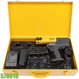 578010 Bộ máy bấm cos chạy pin Ø 10–40 mm REMS Mini-Press