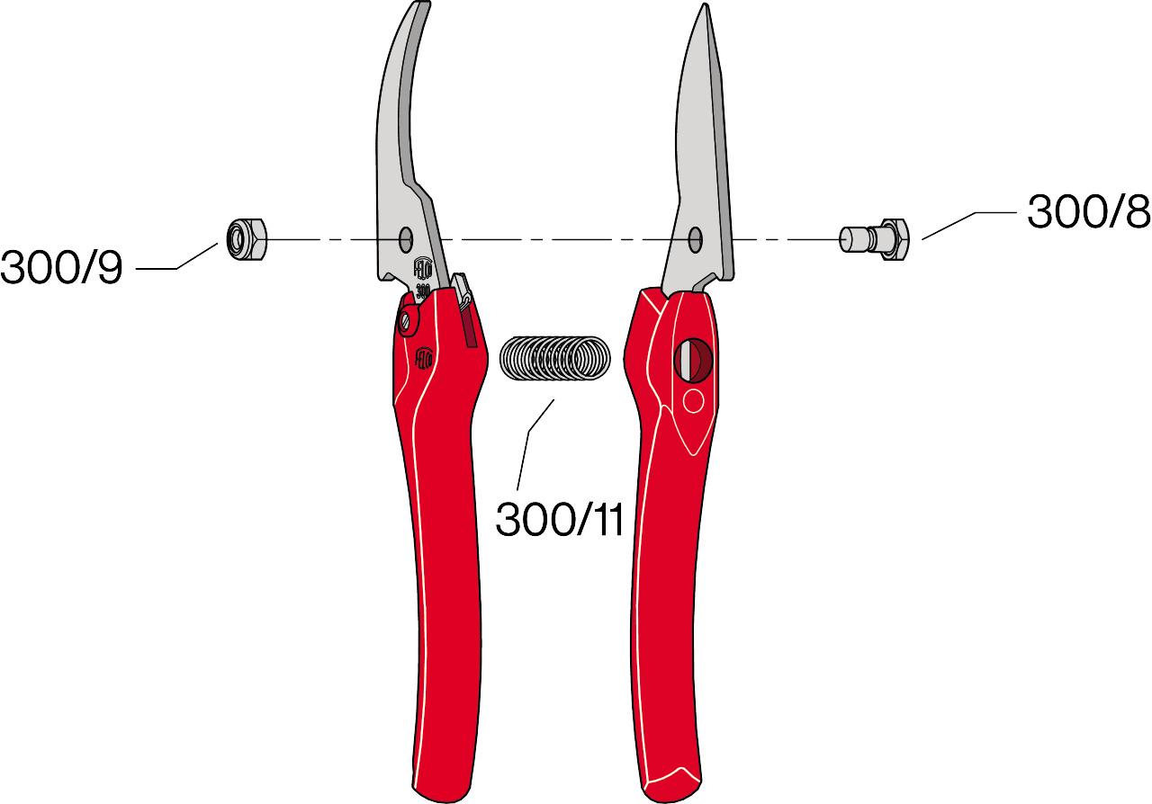 Felco 300 kéo cắt cành