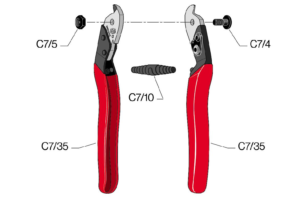felco c7 kìm cắt cáp