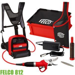Bộ máy cắt cành bằng pin FELCO 812, đầy đủ phụ kiện