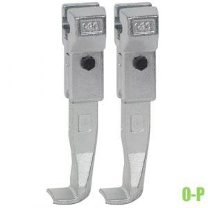 0-P cặp càng cho cảo 2 chấu tháo vòng bi, bánh răng, đĩa chặn.