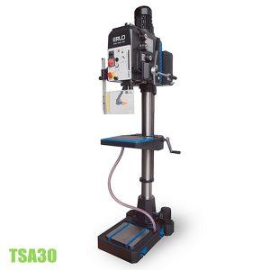 TSA30 máy khoan cần 30mm cấp phôi tự động, taro tới M25
