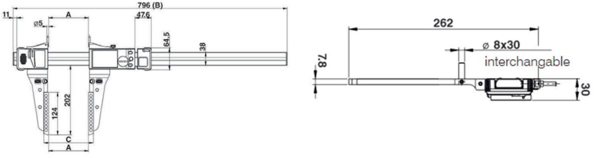 thông số kỹ thuật thước cặp UL4