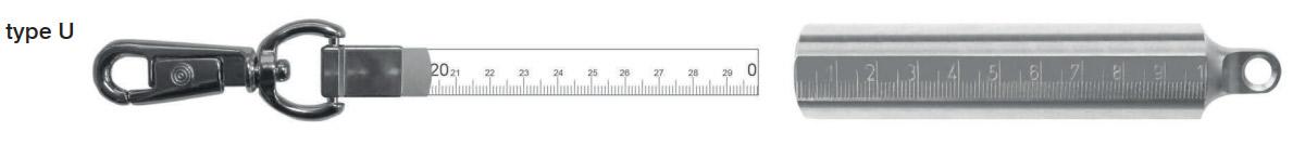 thước cuộn quả rọi thép không gỉ 400g
