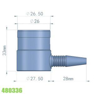đầu đo độ dày cho vật liệu tổng hợp