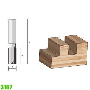 mũi phay tạo rãnh trên gỗ 3167 Famag