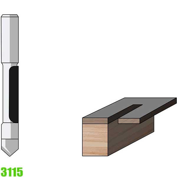 Mũi phay và khoan 3115 Famag