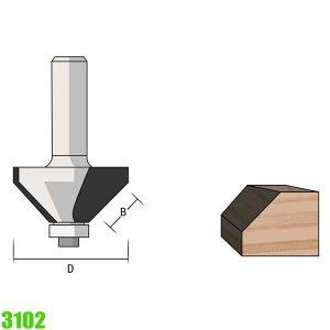 mũi phay vát mép 15 độ 3102