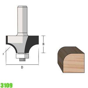 mũi phay vát mép 3109