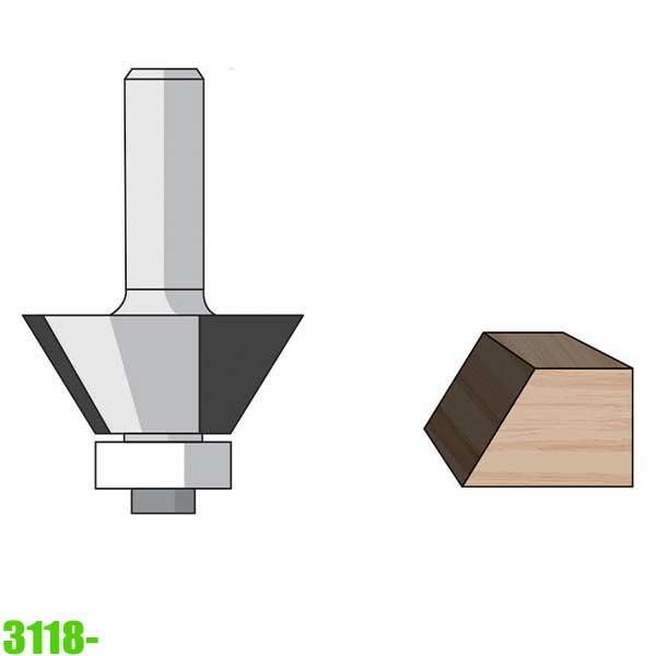 mũi phay vát mép 3118 Famag