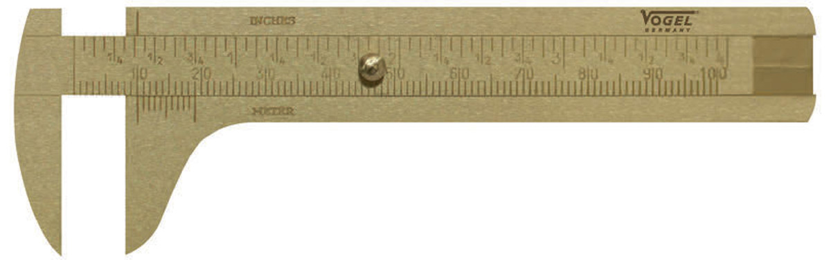 thước cặp bằng đồng thau 214001