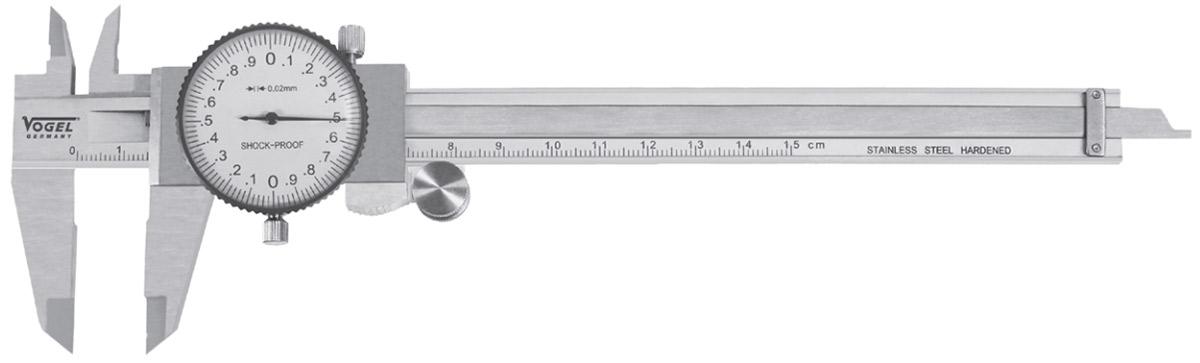 2011- Thước cặp đồng hồ ngàm kẹp từ 40-62mm, inox, chống nước