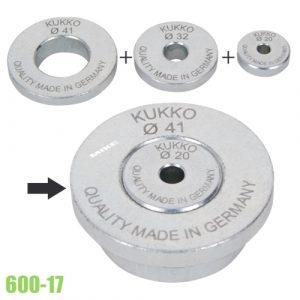 600-17 đĩa đệm chịu áp lực đầu ty cảo tháo vòng bi KUKKO Germany.