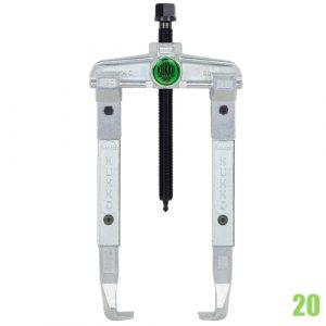 20 Vam 2 chấu ngàm dài từ 200mm đến 500mm KUKKO - Đức