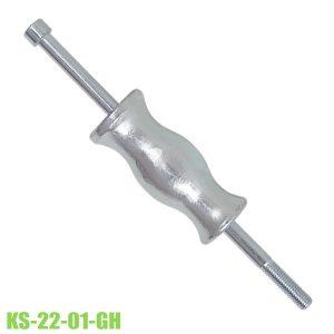 Búa trượt tay giật đối trọng khối lượng đầu búa 0.9 kg KS-22-01-GH