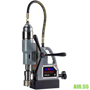 AIR55 Máy khoan từ bằng khí nén, khoan max Ø55mm