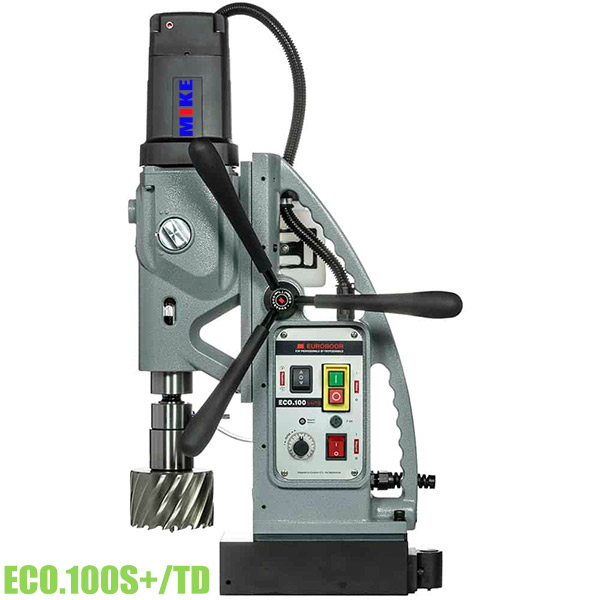 ECO100 Máy khoan từ hạng nặng 4 cấp tốc độ, khoan max Ø100mm